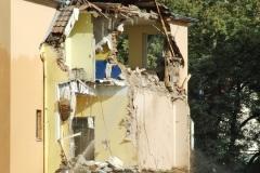Abriss Krankenhaus im Jahr 2010