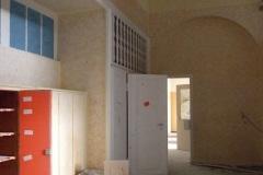 Abriss Krankenhaus Erdgeschoss