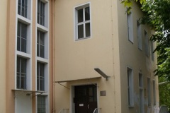 Säuglingshaus, Eingang außen