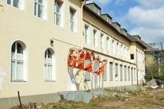 Säuglingshaus, Sicht Richtung Anton-Antweiler-Strasse, Abriss 2010