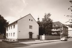 Haupteingang 1964 rechts Sülzguertel Ecke Anton-Antweiler-Straße (Rheinisches Bildarchiv)