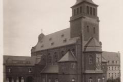 Kirche vor der Zerstörung ...